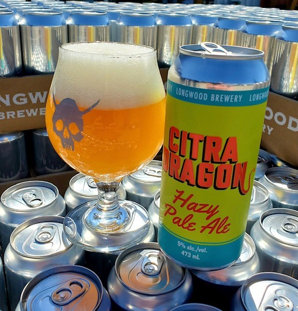 Longwood Brewery - Citra Dragon Hazy Pale Ale