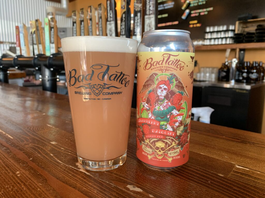 Strawberry Daiquiri - Bad Tattoo Brewing