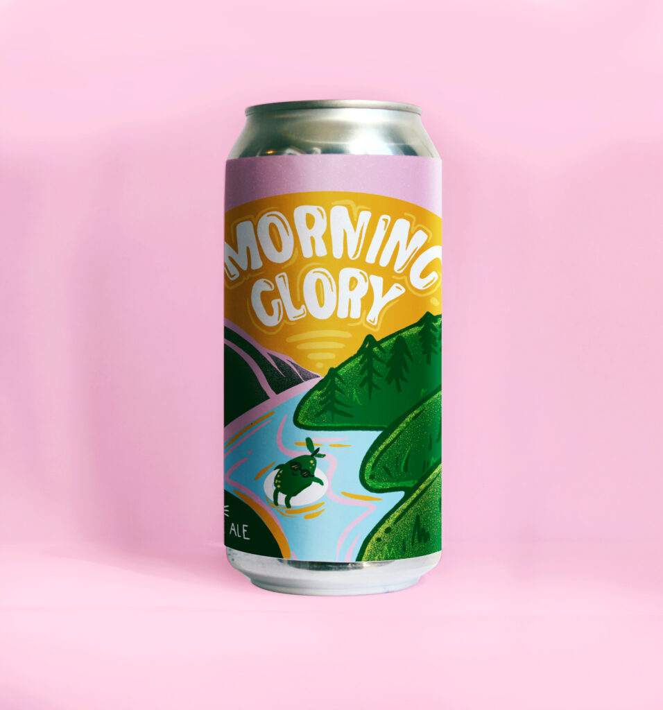 Morning Glory Guava Hazy Pale Ale - Tin Whistle Brewing