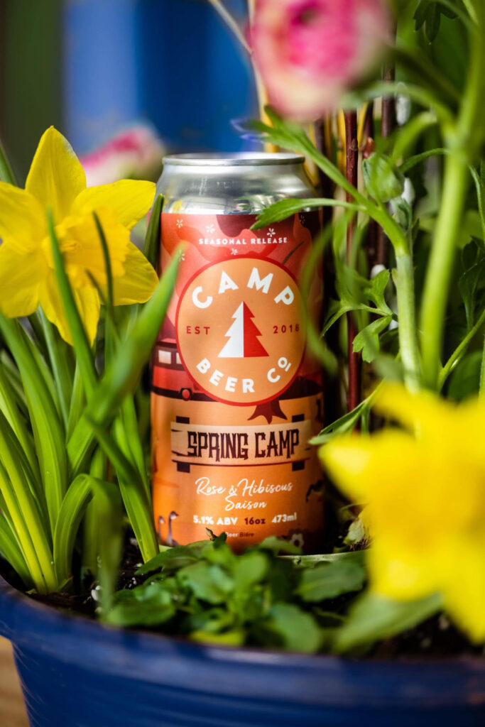 spring beer releases Camp Beer Co - Spring Camp